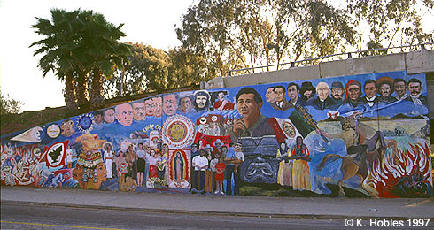 Chicano park murals historical mural for Mural history